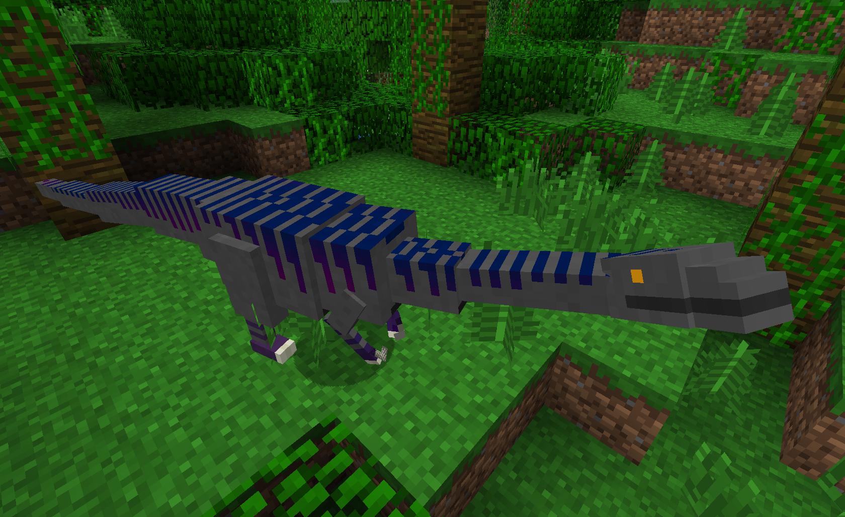 Майнкрафт мод динозавры