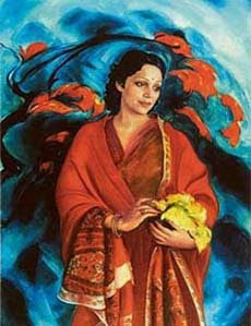 painting by Svetoslav Roerich