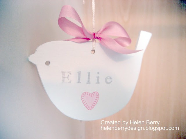 Little Ellie Bird Hanger