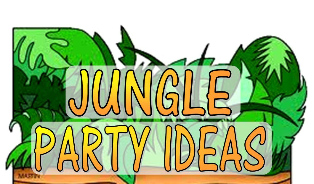 Jungle Theme Party Games Activities