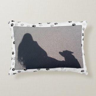 Paw Print Pillow Pals Accent Pillow