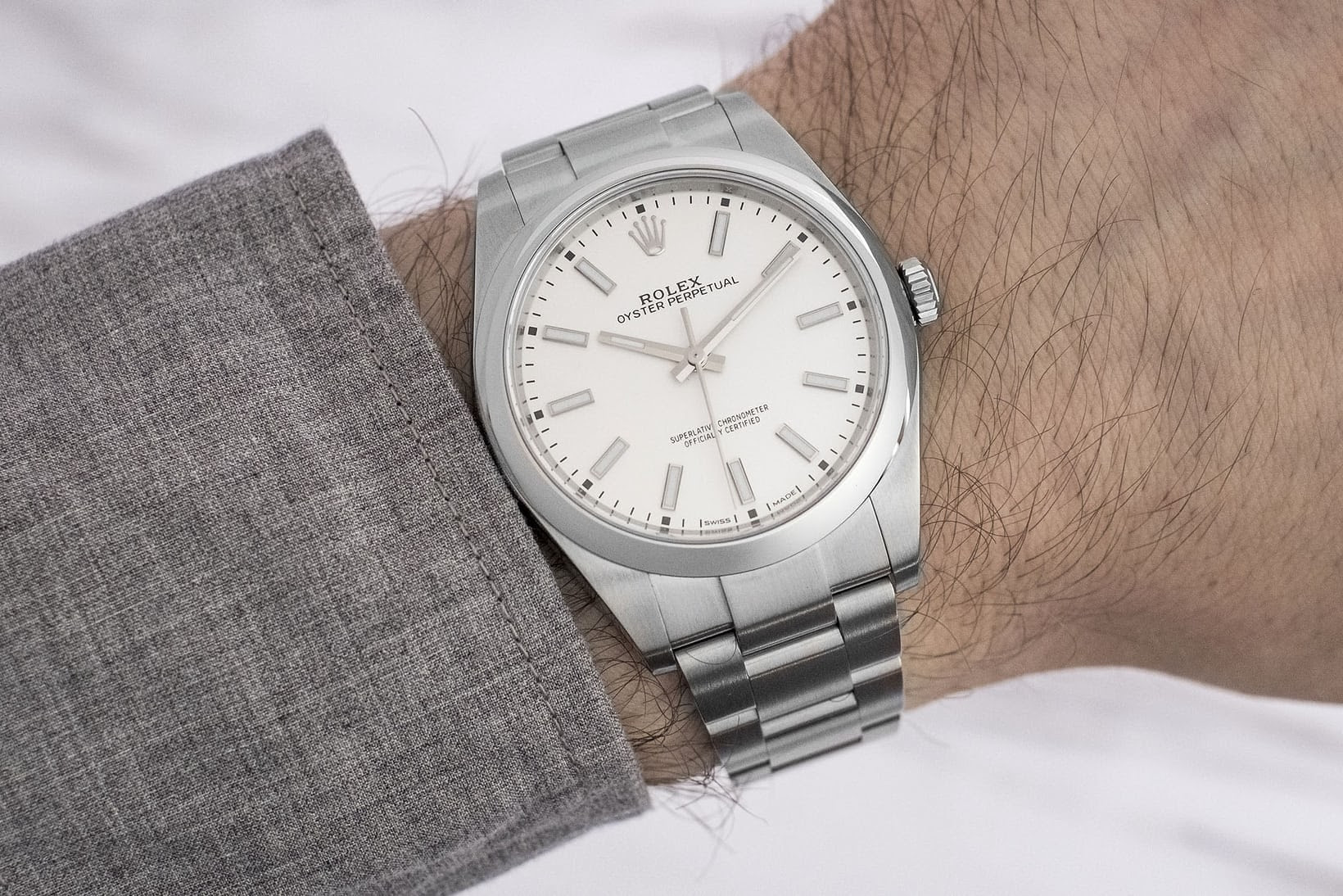 HODINKEE Pre Owned Rolex 114300