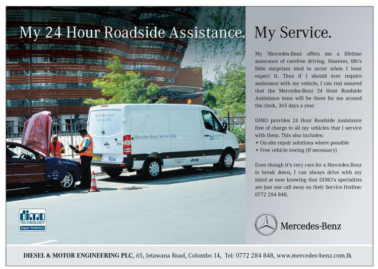 DIMO Mercedes Benz 24 Hours Roadside assistance - SynergyY