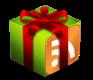 icono feed regalo de navidad