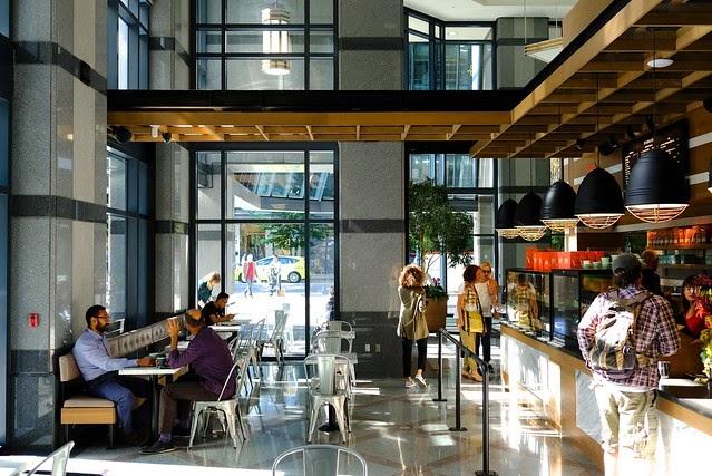 Kaffe 49th Parallel Coffee X Lucky S Doughnuts X