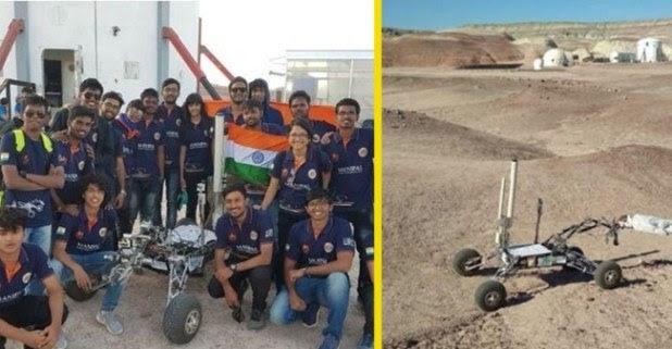 Mars Rover Manipal Team Secures The Top Of Mars Rover Design Teams In The World