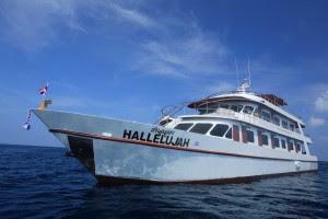 MV Hallelujah Similan Islands