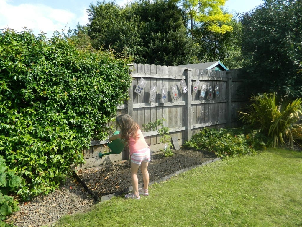 Homebase Garden Makeover Project Kids And The Garden Love Chic
