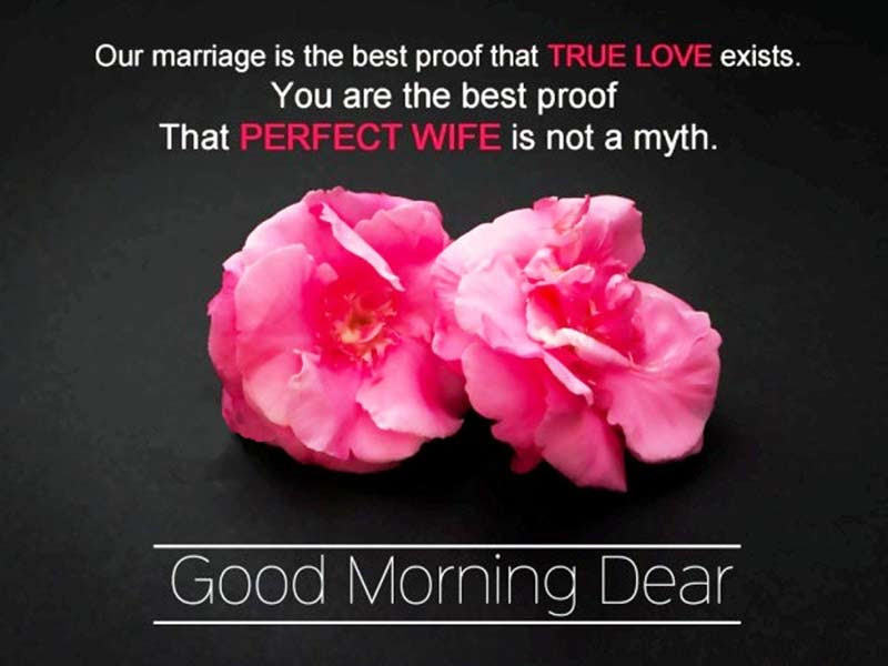 Good Morning Message For Wife Sweet Morning Wishes Wishesmsg