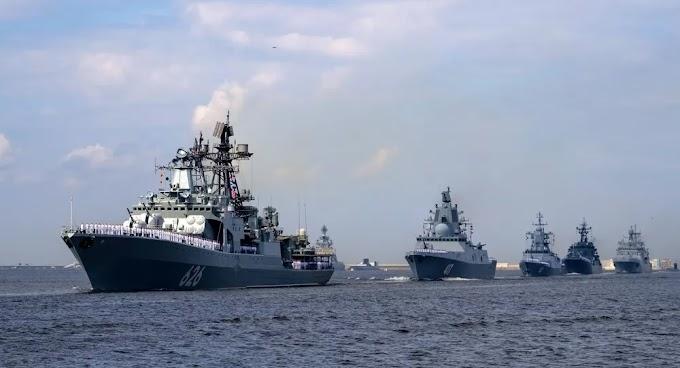 Marinha Russa receberá fragatas com armamento hipersônico até 2026