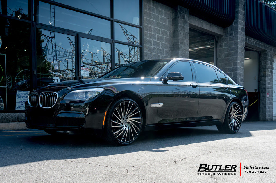 Bmw 7 Series With 22in Lexani Wraith Wheels Exclusively From Butler Tires And Wheels In Atlanta