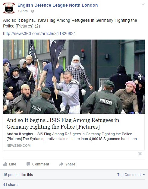 ISIS in refugees in Germany