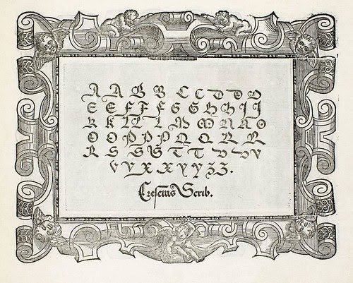 Francesco Giovanni Cresci - Il Perfetto Scrittore - 1570 b