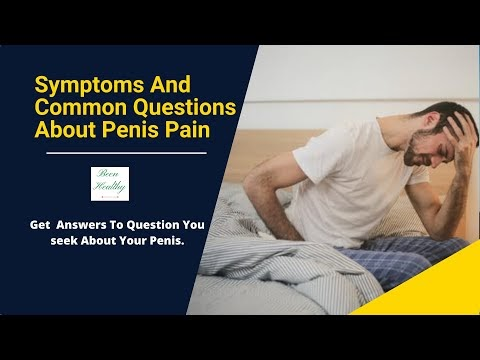 Symptoms And Questions About Penis Pain