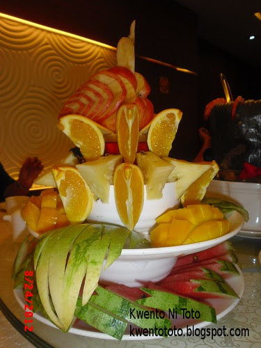 King Bee Chinese Restaurant Bloggers Food Tasting Event Mixed Fruits Platter