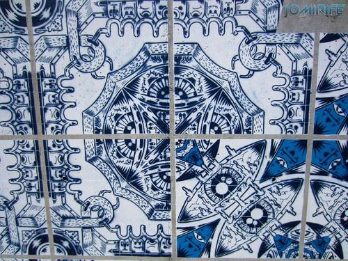 Arte Urbana by Add Fuel - Azulejos, Herança Viva na Figueira da Foz Portugal - Desenhos (10) [en] Urban art by Add Fuel - Tiles, Living Heritage in Figueira da Foz, Portugal