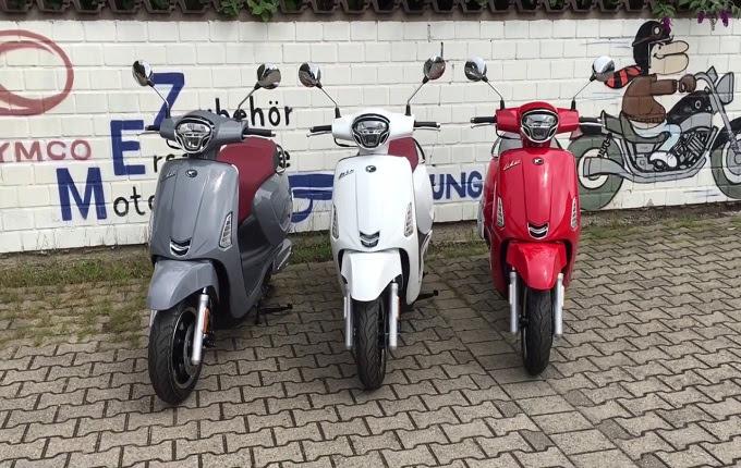 Tak mau menciptakan Piaggio nyaman dengan skuter matic Skutir Matic Buatan Kymco Serupa Dengan Vespa Primavera Dan Sprint. Penasaran Bung?
