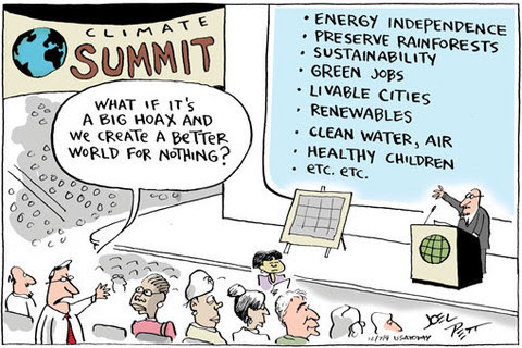 What if climate change is a hoax?