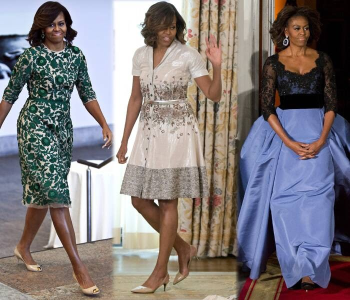 Ulimwengu Wa Mitindo Michelle Obama Fashion Icon