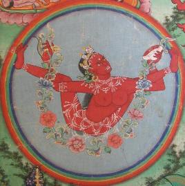 red yogini