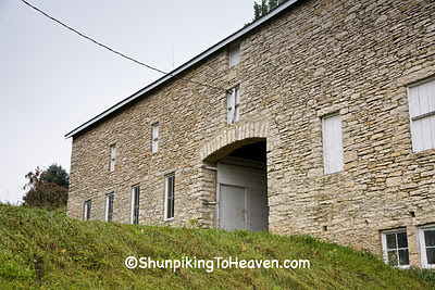 Drive-Through Stone Barn, Filmore County, Minnesota