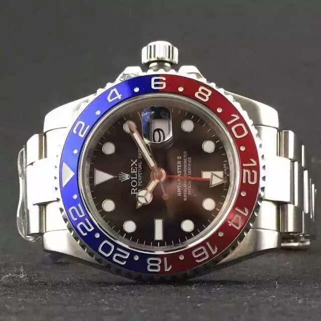 Rolex GMT Master II Replica Blue Red