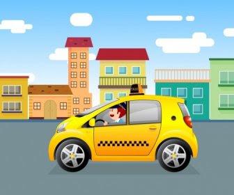 610+ Gambar Mobil Taxi Kartun HD Terbaik