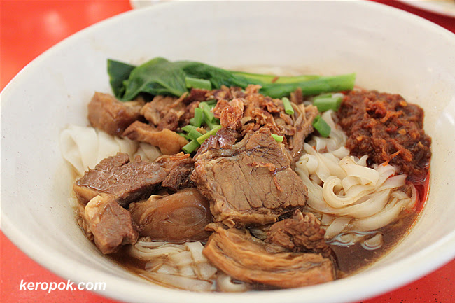 Braised Beef Kuey Teow