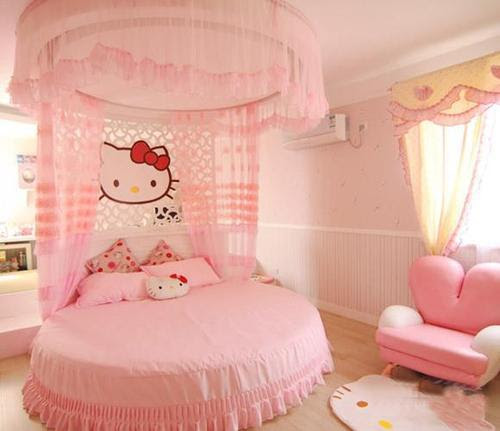 hello kitty bed | Tumblr