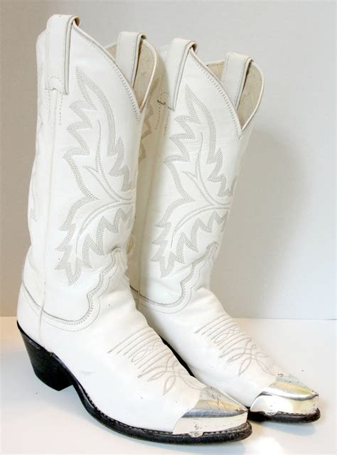 white cowboy boots for wedding reception   I Love Weddings