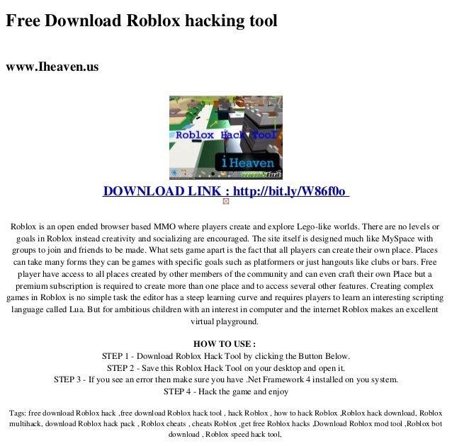 Roblox Speed Hacks Download | Robux Generator No Human