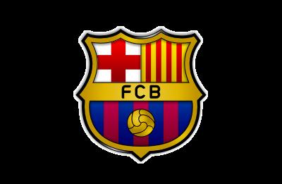 Barcelona Football Club logo mockup