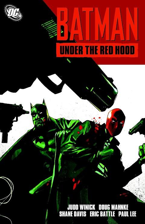 Batman Under The Red Hood Comic Book