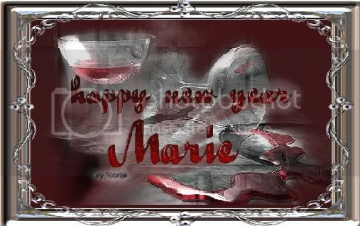 Happy New Year from Marie