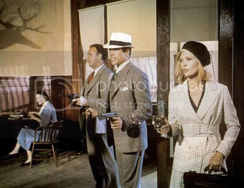 Gene Hackman, Warren Beatty, and Faye Dunaway in 'Bonnie and Clyde'