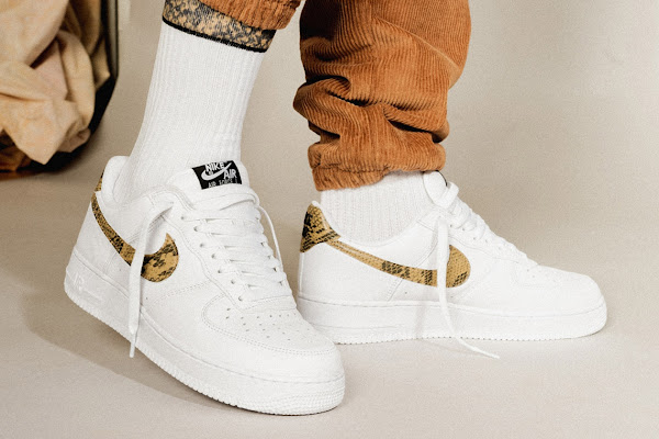 "4dab939c06 Nike Brings Back The Air Force 1 ""Python Snake"" From 1996"