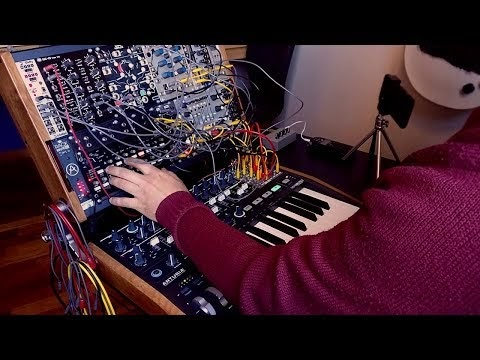 matrixsynth trent reznor and atticus ross in motion modular synthesizer cover. Black Bedroom Furniture Sets. Home Design Ideas