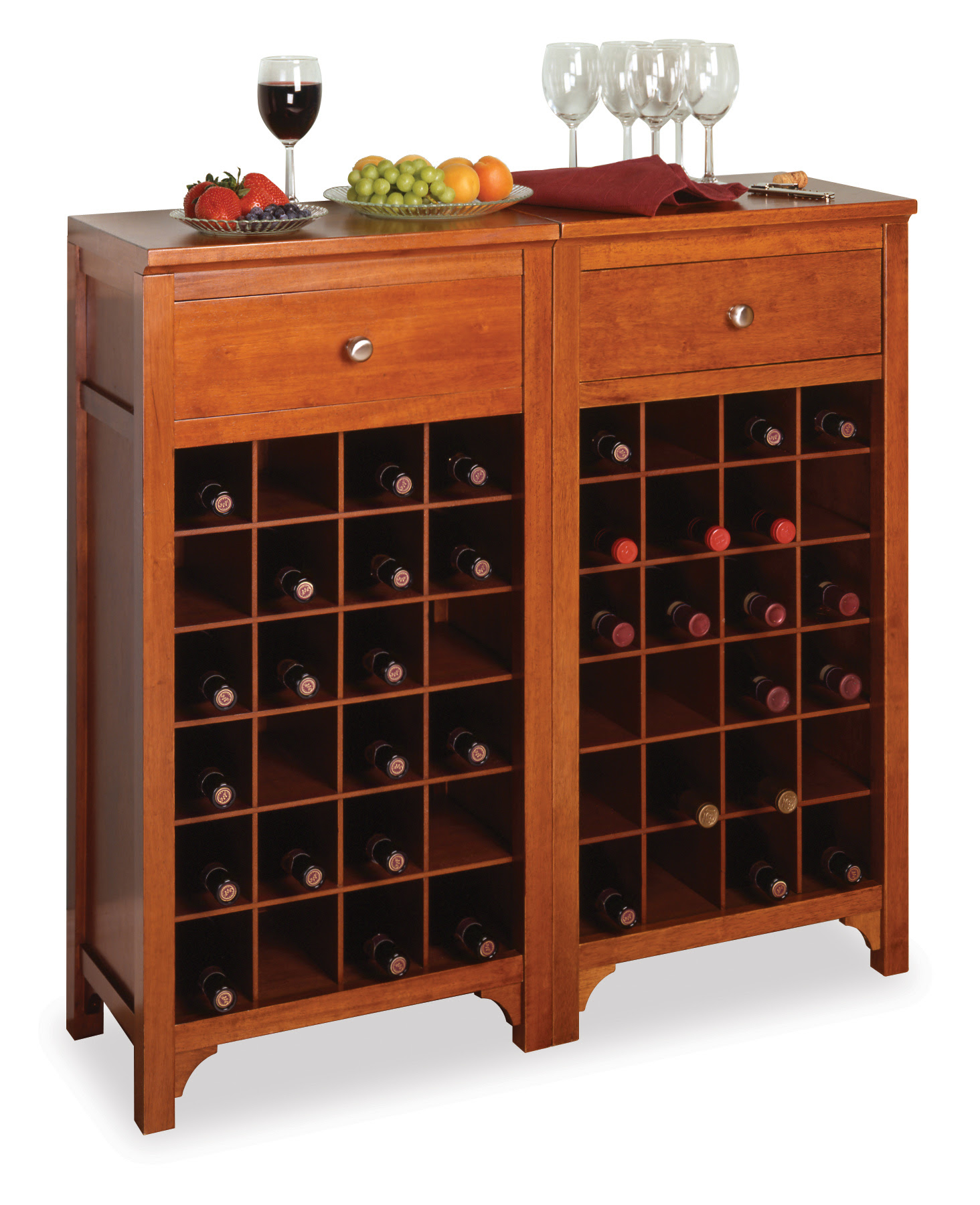 Bar Cabinets Wine Rack