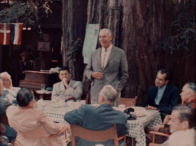 Petit déjeuner le 23 juillet 1967 au Bohemian Club