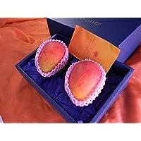 宮崎産「木成り完熟マンゴー」2玉化粧箱3Lサイズ