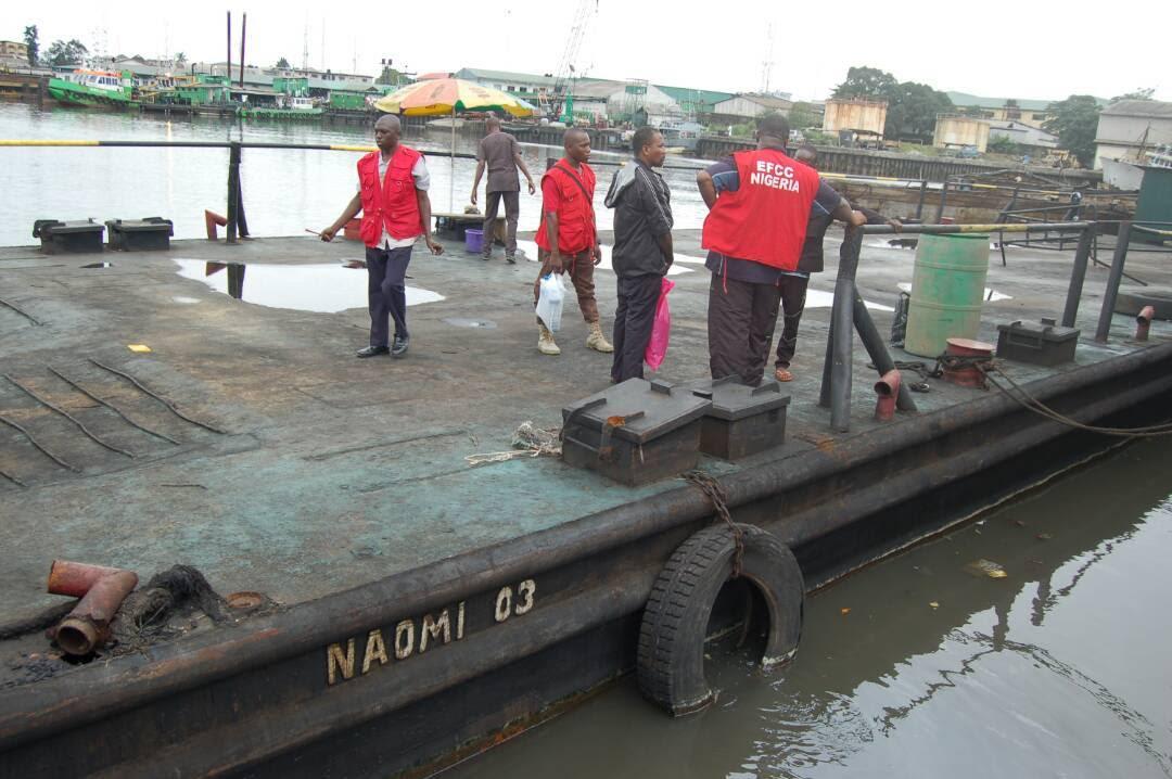 EFCC Parades 13 Oil Thieves In Port Harcourt [PHOTOS] -