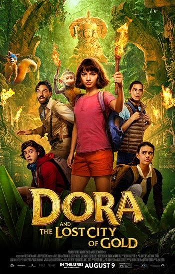 Dora and the Lost City of Gold 2019 English HDCam 480p 300MB
