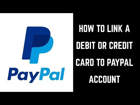 How to add a Credit or Debit card to your Paypal account