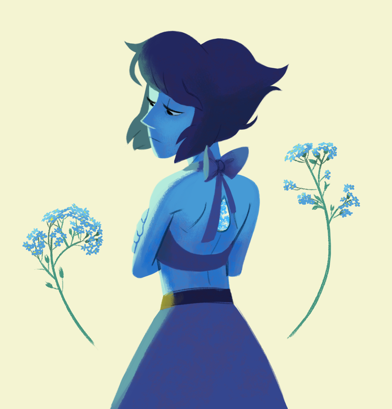 Lapis, just for fun. commission info
