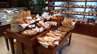 Richemont bakery, bread selection