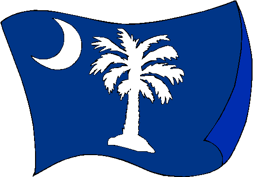 Pictures Of South Carolina Flag The Flag Of South Carolina