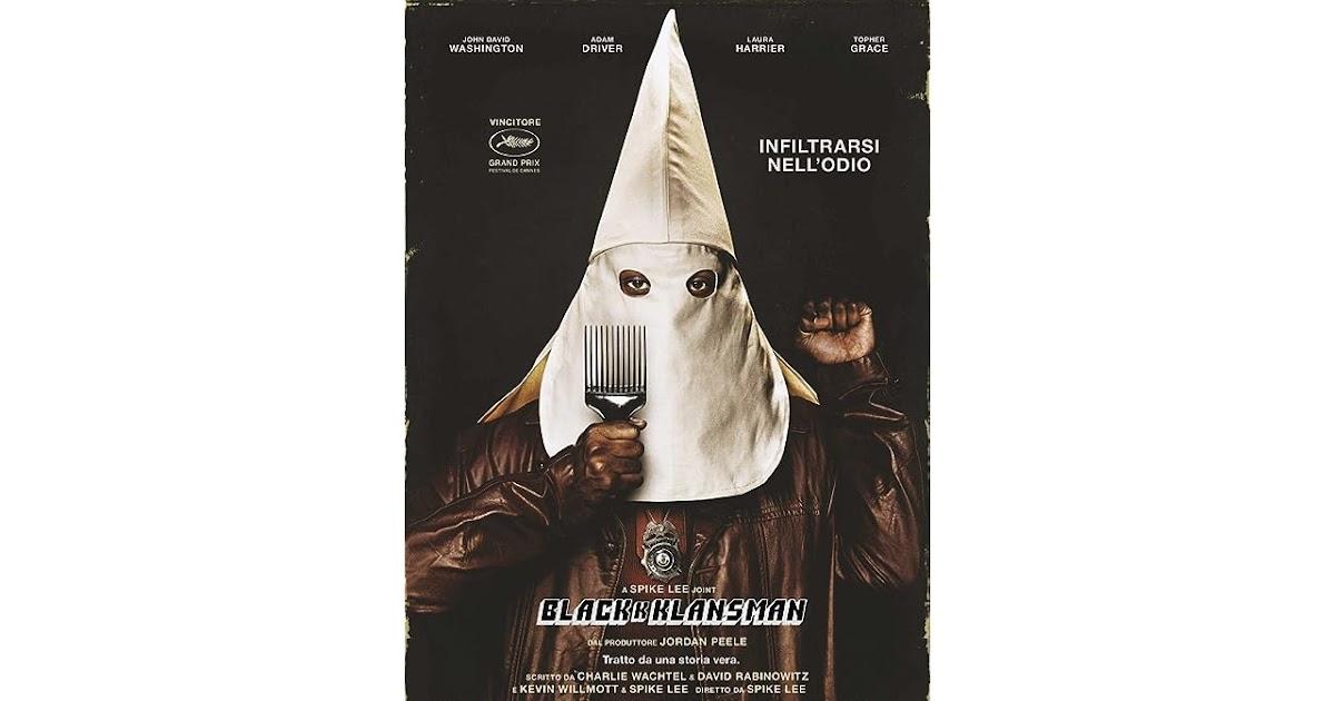 Blackkklansman Netflix
