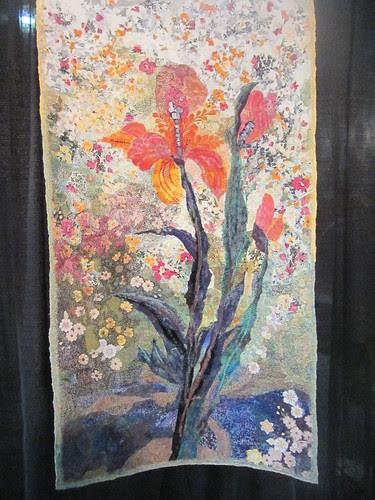 """""""Iris in My Garden"""" by Marianne Williamson of Miami, FL"""