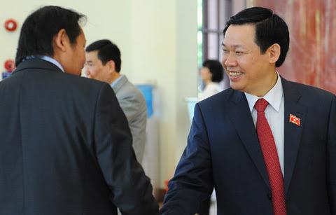 Vương Đình Huệ, miễn nhiệm
