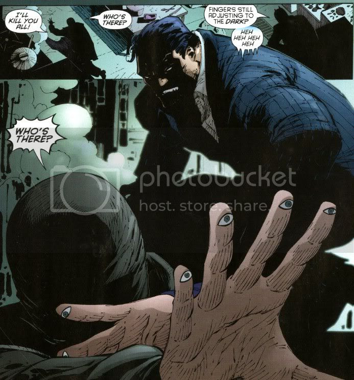 from Batman: The Black Glove, by Grant Morrison, J.H. Williams III, Tony Daniel and Richard Clark
